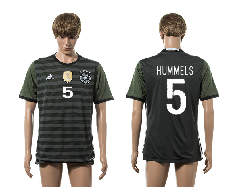European Cup 2016 Germany away 5 Hummels AAA+ soccer jerseys