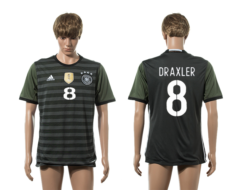 European Cup 2016 Germany away 8 Draxler AAA+ soccer jerseys