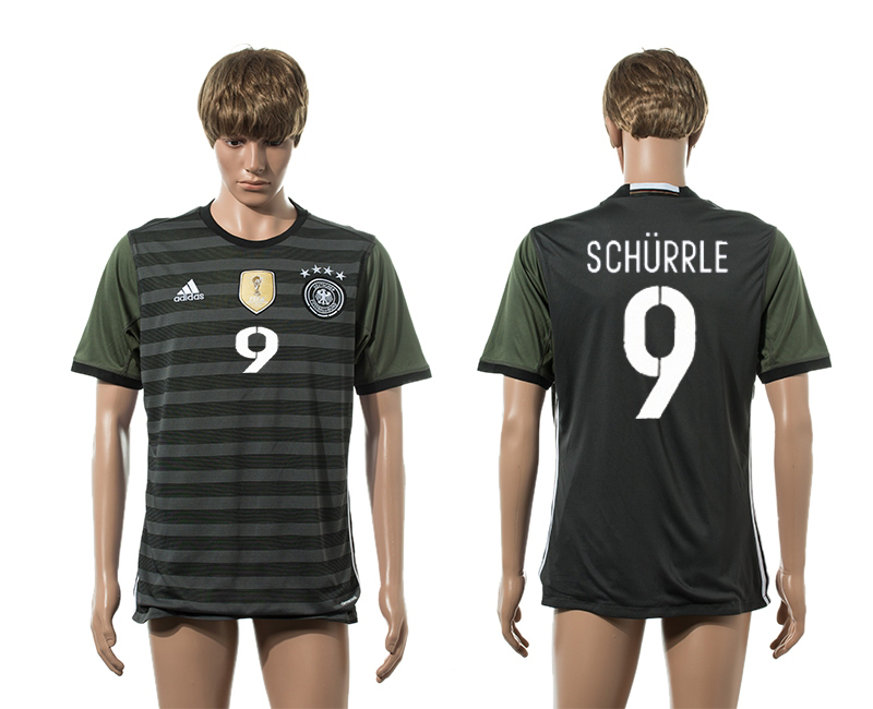 European Cup 2016 Germany away 9 Schurrle AAA+ soccer jerseys
