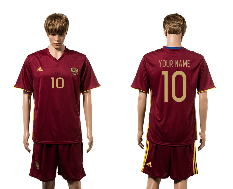 European Cup 2016 Germany home 10 customzied red soccer jerseys