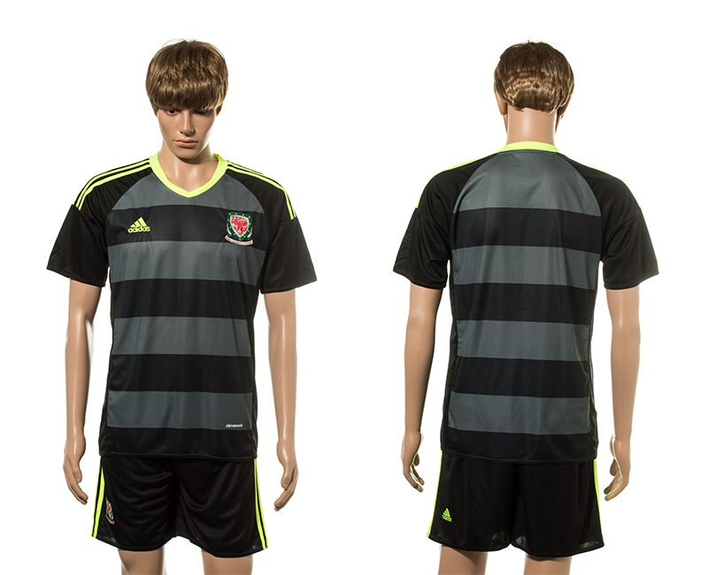 European Cup 2016 Welsh away blank soccer jerseys