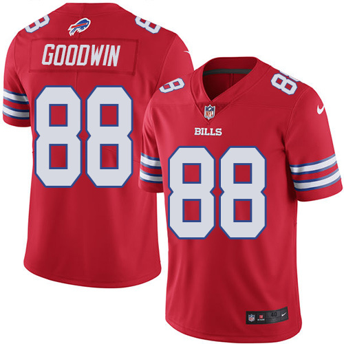 2016 Nike Buffalo Bills 88 Marquise Goodwin Red Mens Stitched NFL Limited Rush Jersey