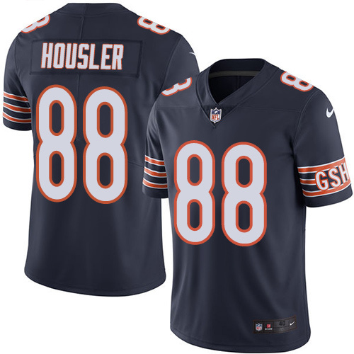 2016 Nike Chicago Bears 88 Rob Housler Navy Blue Mens Stitched NFL Limited Rush Jersey