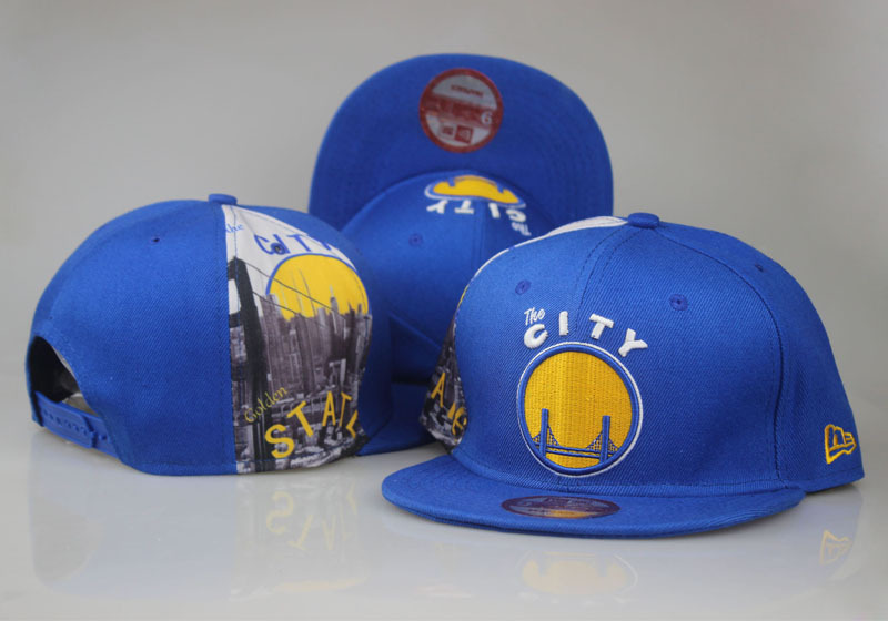 2017 NBA Golden State Warriors Snapback 33 LTMY