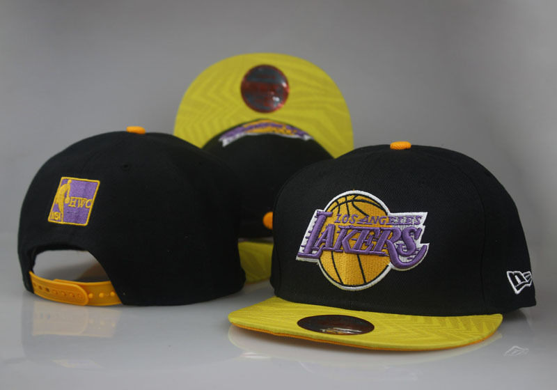 2017 NBA Los Angeles Lakers Snapback 22 LTMY