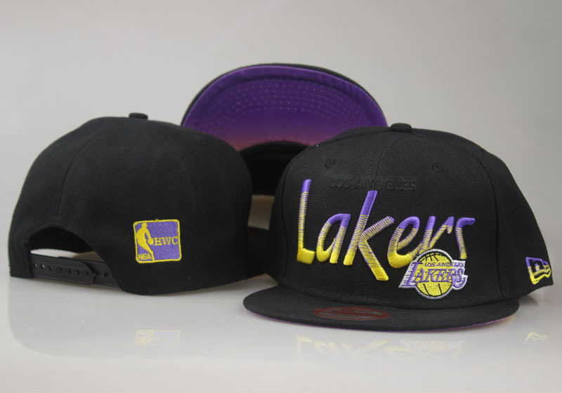 2017 NBA Los Angeles Lakers Snapback 54 LTMY
