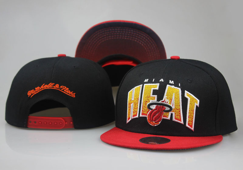 2017 NBA Miami Heat Snapback 4 LTMY