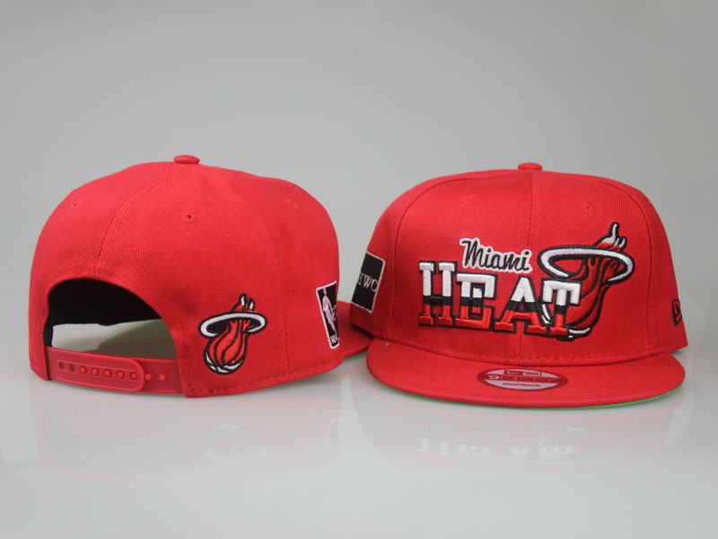 2017 NBA Miami Heat Snapback. 32 LTMY
