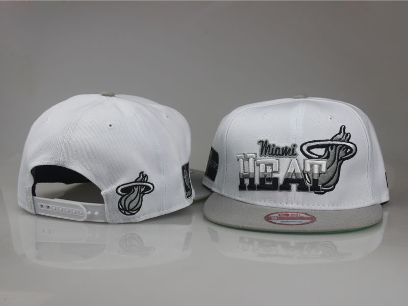 2017 NBA Miami Heat Snapback.1 LTMY