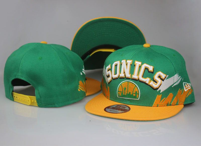 2017 NBA Seattle Supersonics Snapback LTMY