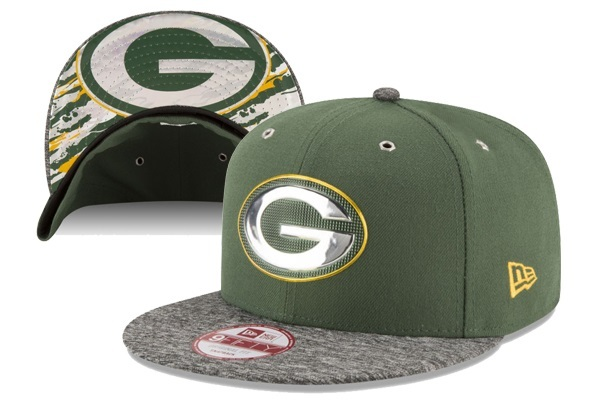2016 NFL Draft On Stage Green Bay Packers Snapback XDFMY