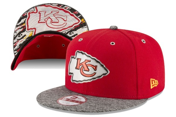 2016 NFL Draft On Stage Kansas City Chiefs Snapback XDFMY