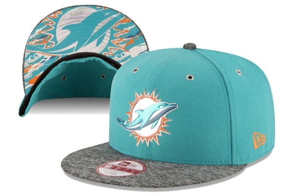 2016 NFL Draft On Stage Miami Dolphins Snapback XDFMY