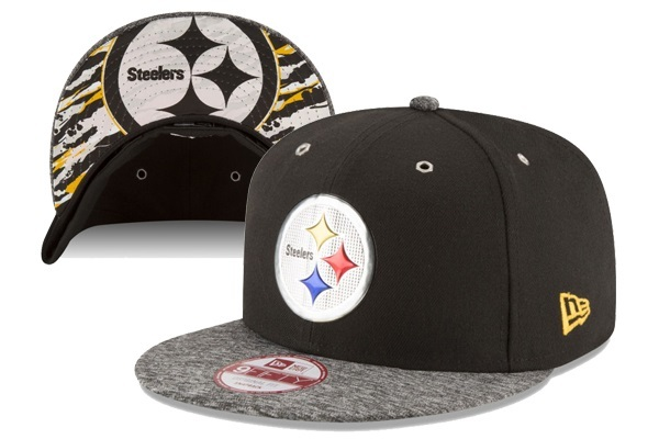 2016 NFL Draft On Stage Pittsburgh Steelers Snapback XDFMY