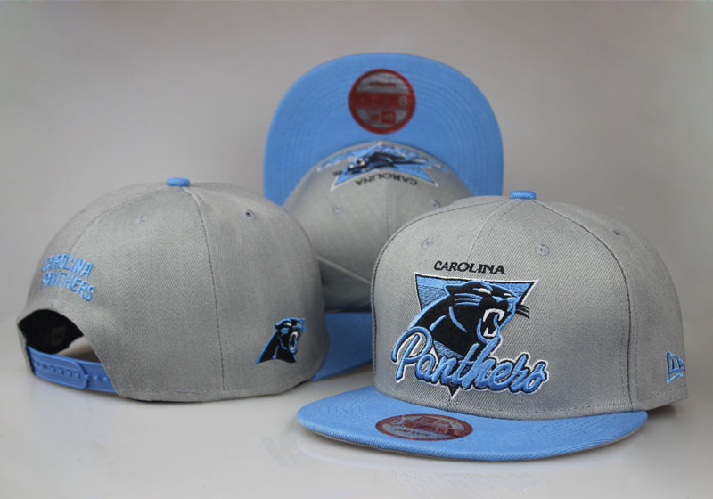 2017 NFL Carolina Panthers Snapbacks 2 LTMY