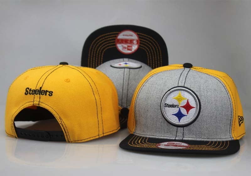 2017 NFL Pittsburgh Steelers Snapback 8 LTMY