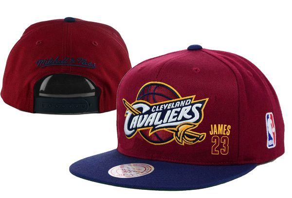 2017 Hot Hat NBA Cleveland Cavaliers James Snapback Brown