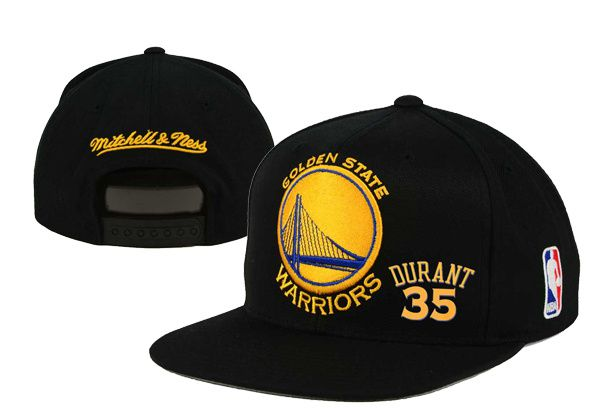 2017 Hot Hat NBA Golden State Warriors Durant Snapback Black