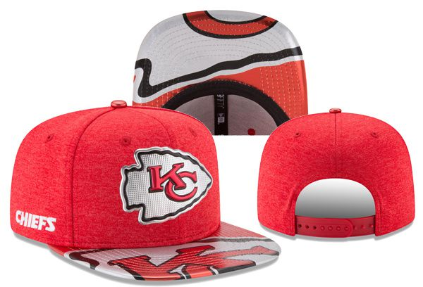 2017 Hot Hat NFL Kansas City Chiefs Snapback