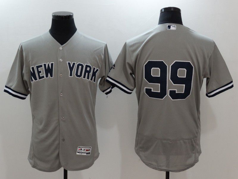 2017 MLB New York Yankees 99 Judge Grey Elite Jerseys
