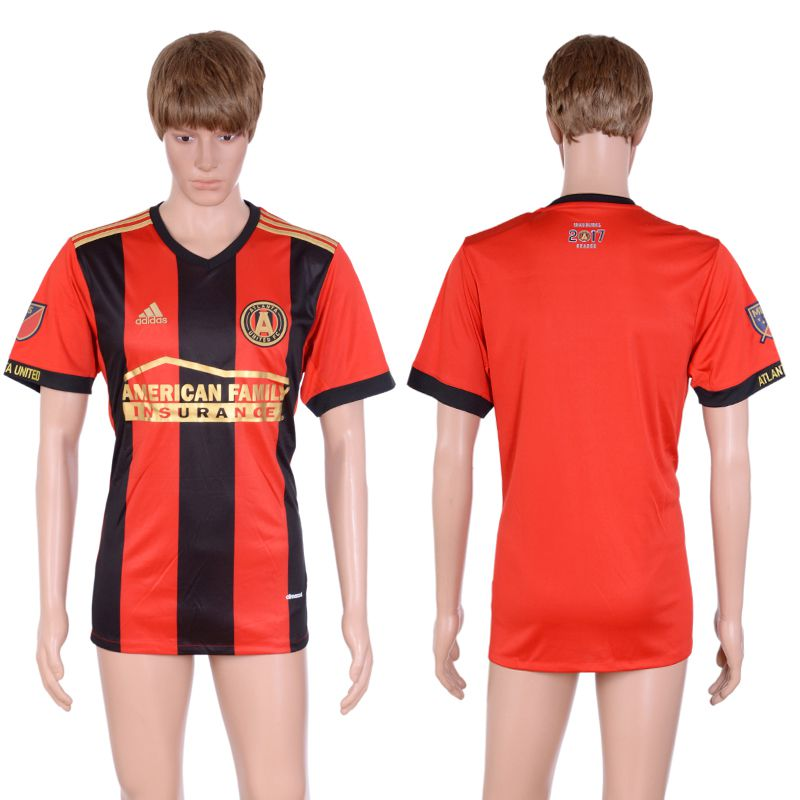 2017-2018 Club Men Atlanta United Home Aaa+ Soccer Jersey