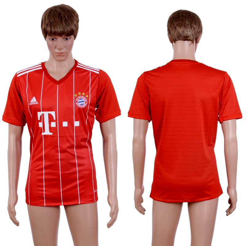 2017-2018 Club Men Bayern Munich Home Aaa+ Soccer Jersey