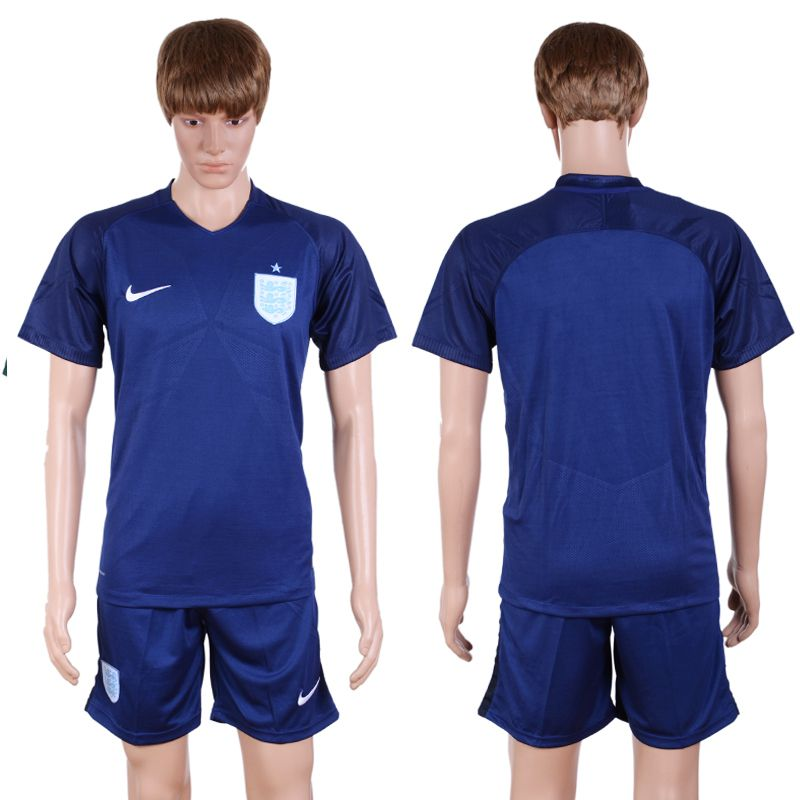 2017-2018 National Men England Away Suits Soccer Jersey