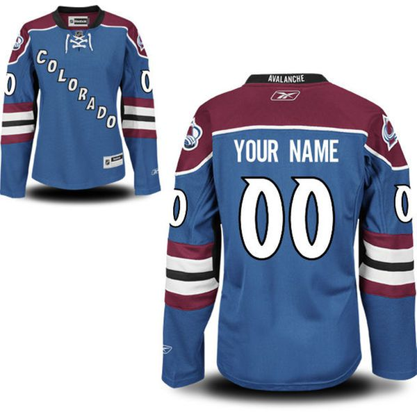 Reebok Colorado Avalanche Women Premier Alternate Custom NHL Jersey - Royal Blue