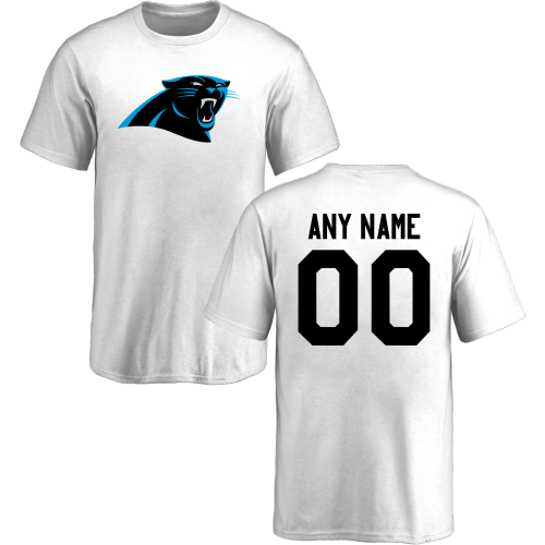 Youth Carolina Panthers Design-Your-Own Short Sleeve Custom NFL T-Shirt