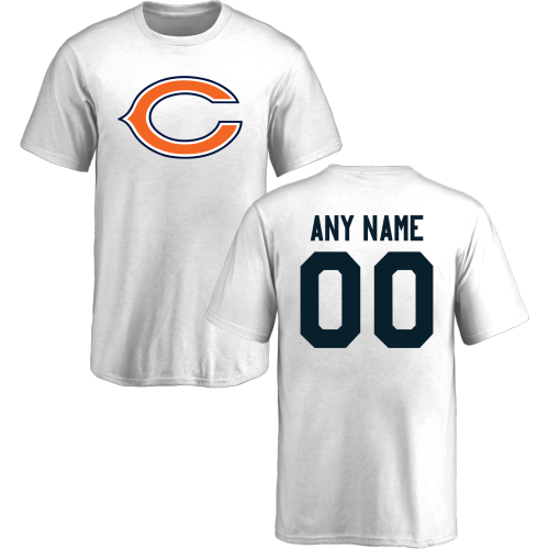 Youth Chicago Bears Design-Your-Own Short Sleeve Custom NFL T-Shirt
