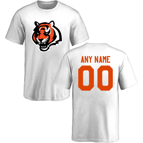 Youth Cincinnati Bengals Design-Your-Own Short Sleeve Custom NFL T-Shirt