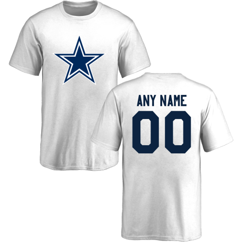 best website 42a02 0ad0b Youth Dallas Cowboys Design-Your-Own Short-Sleeve Custom NFL ...