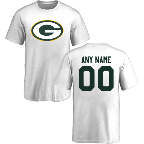 Youth Green Bay Packers Design-Your-Own Short Sleeve Custom NFL T-Shirt