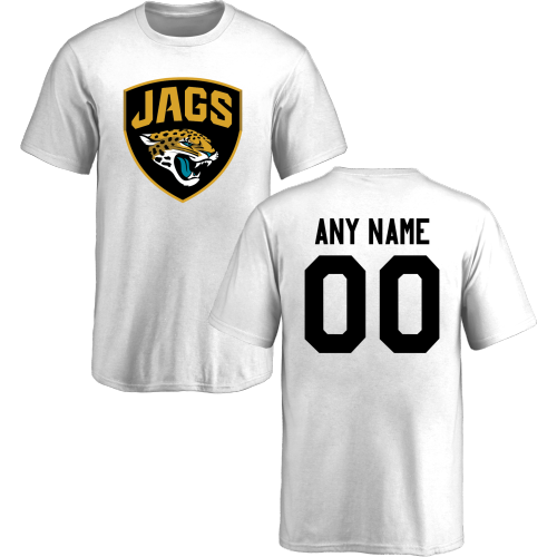 Youth Jacksonville Jaguars Design-Your-Own Short Sleeve Custom NFL T-Shirt