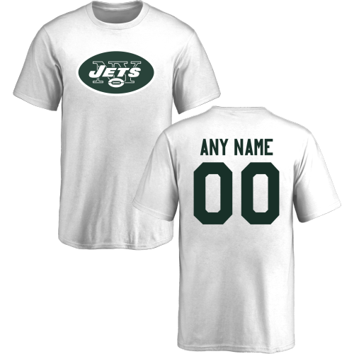 Youth New York Jets Design-Your-Own Short Sleeve Custom NFL T-Shirt