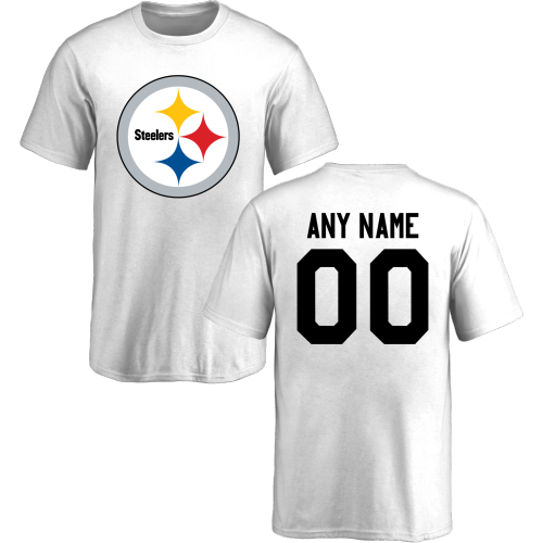 Youth Pittsburgh Steelers Design-Your-Own Short Sleeve Custom NFL T-Shirt