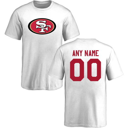 Youth San Francisco 49ers Design-Your-Own Short Sleeve Custom NFL T-Shirt