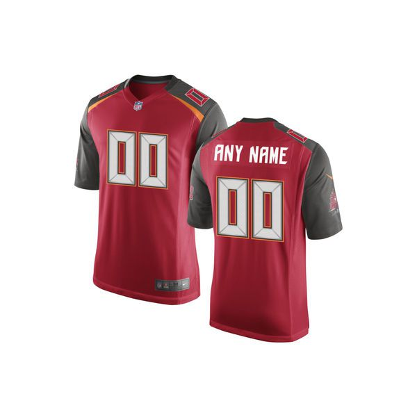 Youth Tampa Bay Buccaneers Nike Red Custom Game NFL Jersey