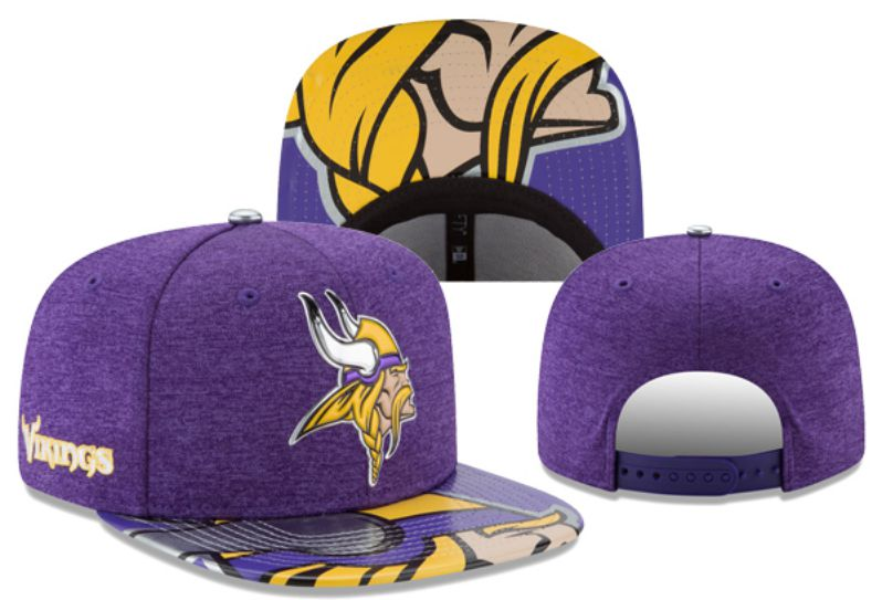 2017 Hot NFL Minnesota Vikings Snapback hat