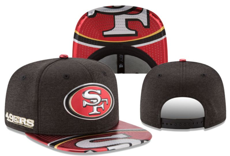 2017 Hot NFL San Francisco 49ers Snapback hat 3