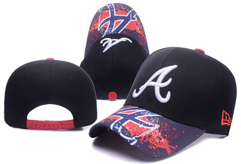 2017 MLB Atlanta Braves Snapback Hat