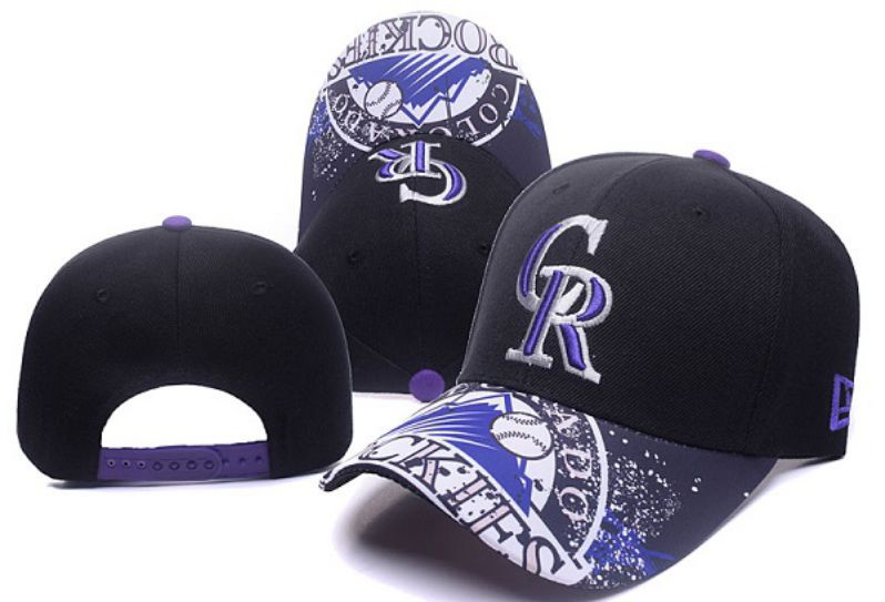 2017 MLB Colorado Rockies Snapback Hat