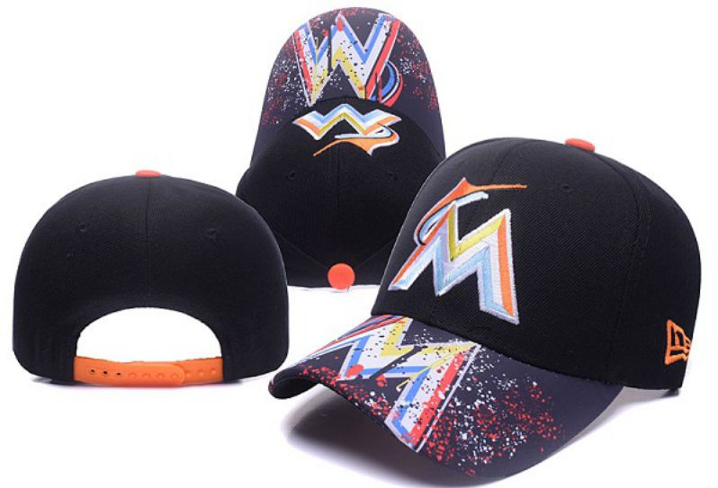 2017 MLB Miami Marlins Snapback Hat