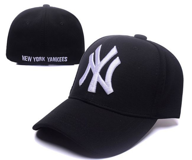 2017 MLB New York Yankees Stretch Fitted Hat Hat