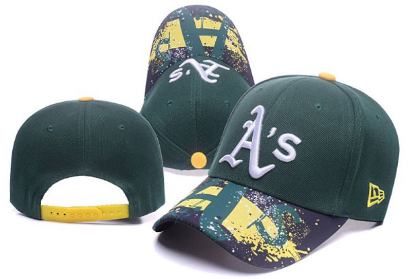 2017 MLB Oakland Athletics Snapback 2 Hat