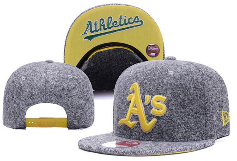 2017 MLB Oakland Athletics Snapback Hat