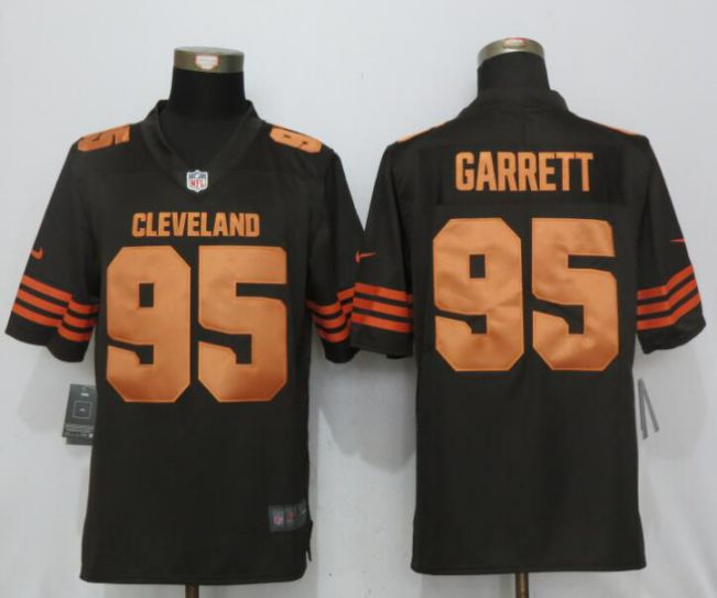 super popular 96d8a 18395 mens cleveland browns 44 nate orchard brown 2016 color rush ...