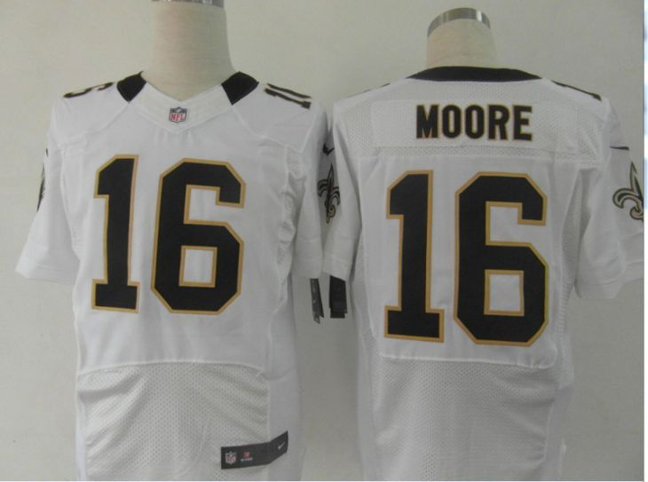 2017 NFL New Orleans Saints 16 Moore white Elite nike jerseys