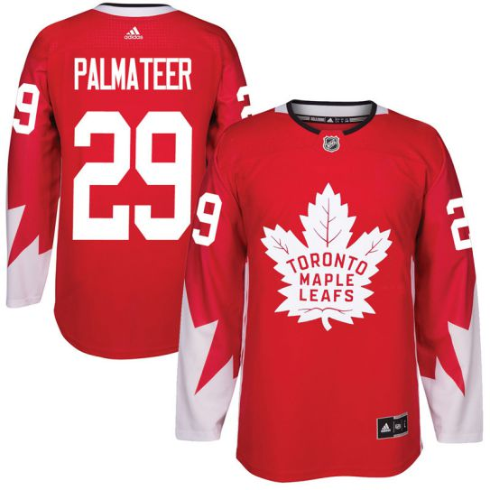 2017 NHL Toronto Maple Leafs Men 29 Mike Palmateer red jersey