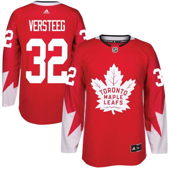 2017 NHL Toronto Maple Leafs Men 32 Kris Versteeg red jersey